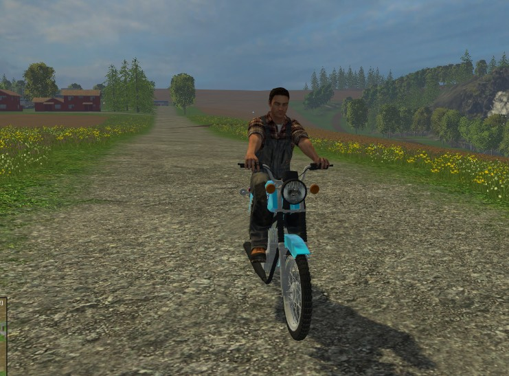скачать мод на фермер симулятор 2015 на мотоцикл иж