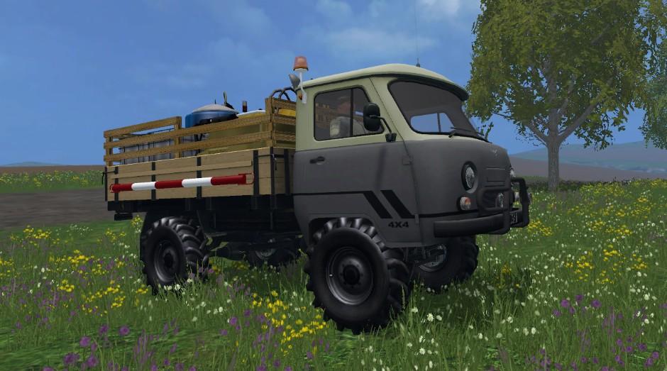УАЗ 452 (дозаправщик) для Farming Simulator 2015