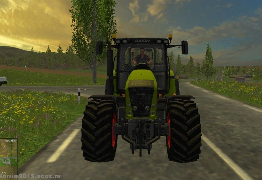 Мод Курсплей для Farming Simulator 2015