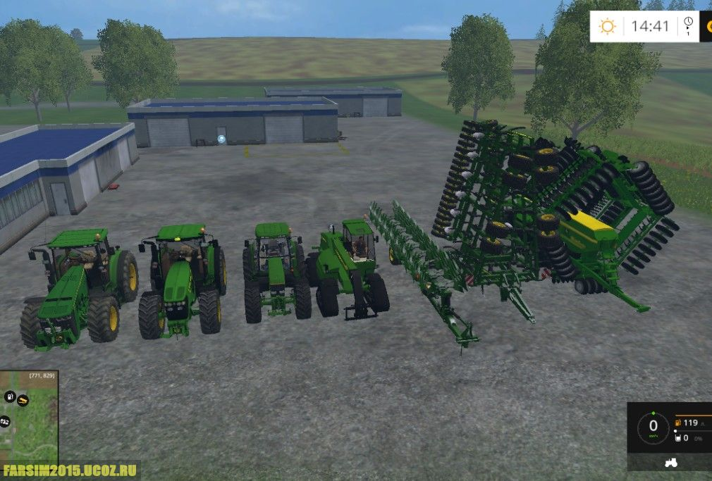 Моды на Ферма Симулятор 15